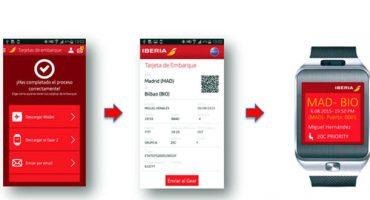Iberia presenta su app para SmartWatch