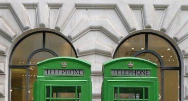 Cabinas de teléfono en Londres: ¡verdes y solares!