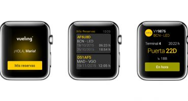 Vueling anuncia su app para Apple Watch