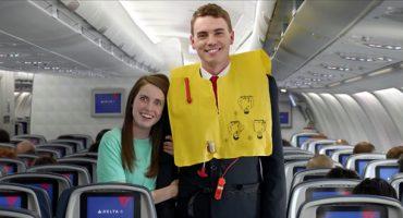 Delta y su vídeo de seguridad a bordo con memes