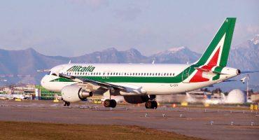 Alitalia cancela vuelos debido a la huelga del 5 de abril