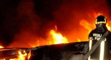 Incendio en el aeropuerto de Roma-Fiumicino