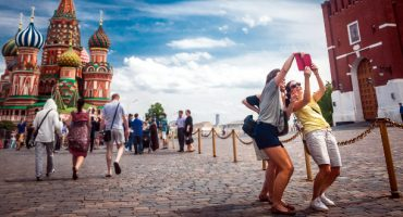 La guía rusa para hacerse «selfies» con seguridad