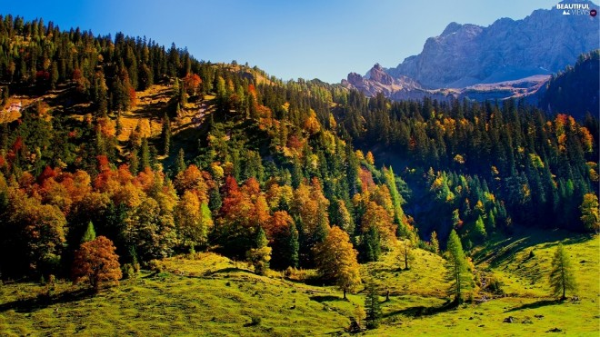 Vistas del Parque Natural de Karwendel, en Austria