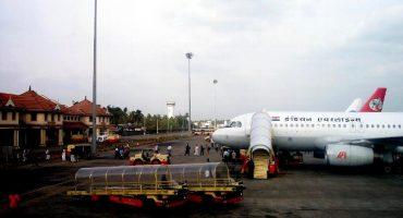 Un aeropuerto solar en la India