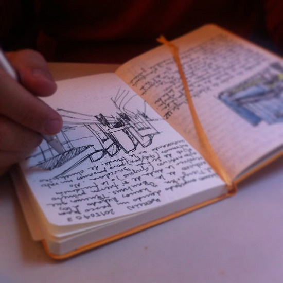 cuaderno para escribir
