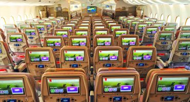 Emirates, reconocida como la aerolínea con mejor entretenimiento a bordo en 2015