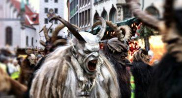 Krampus y Perchten, ¡la tradición navideña más terrorífica!
