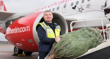 ¡airberlin transporta gratis tu árbol de Navidad!