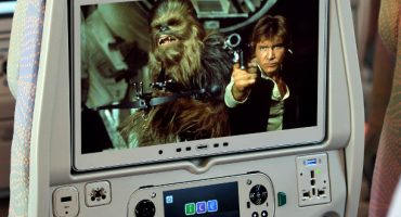 Las 6 películas de «Star Wars» a bordo de Emirates