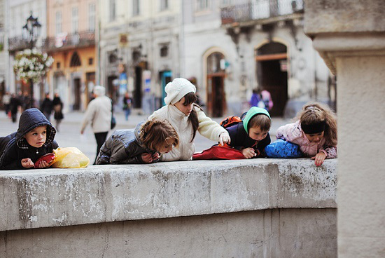 gente en Lviv