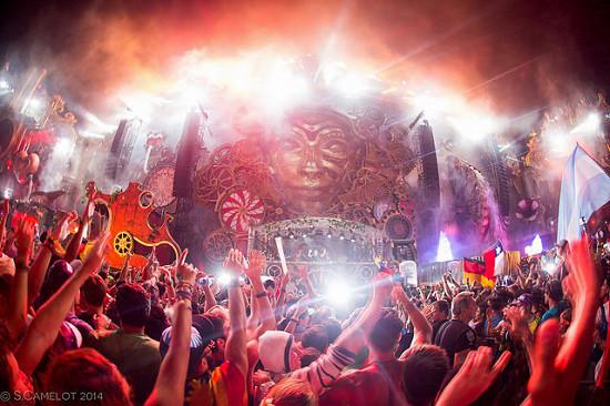 concierto en Tomorrowland