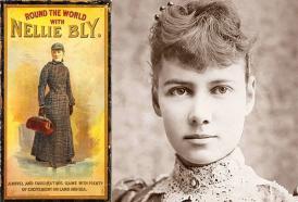 Fotografía e ilustración publicitaria de Nellie Bly