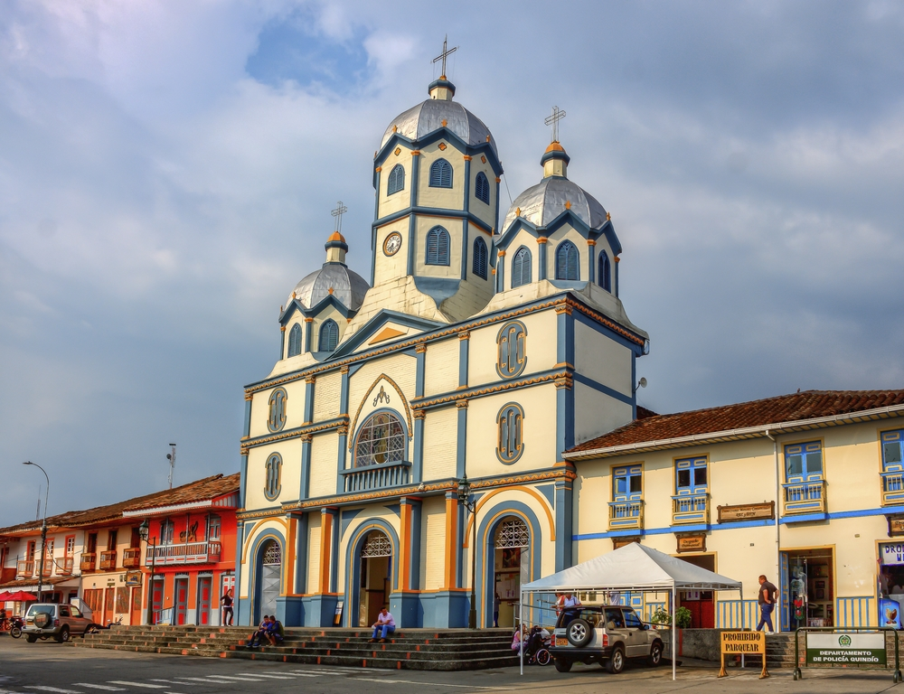 Filandia, localidad del Eje Cafetero colombiano
