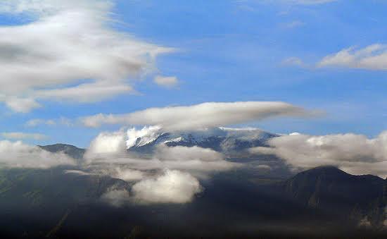 Vistas de un paisaje de Colombia