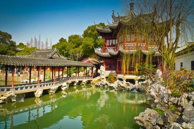 Jardines de Yuyuan, en Shangai