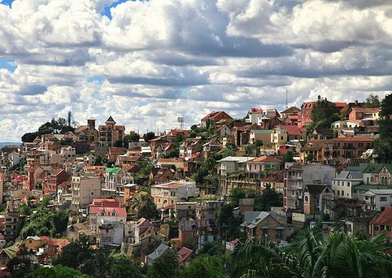Vista de Antananarivo, en Madagascar