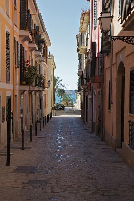 Calles del Casco Viejo de Palma de Mallorca