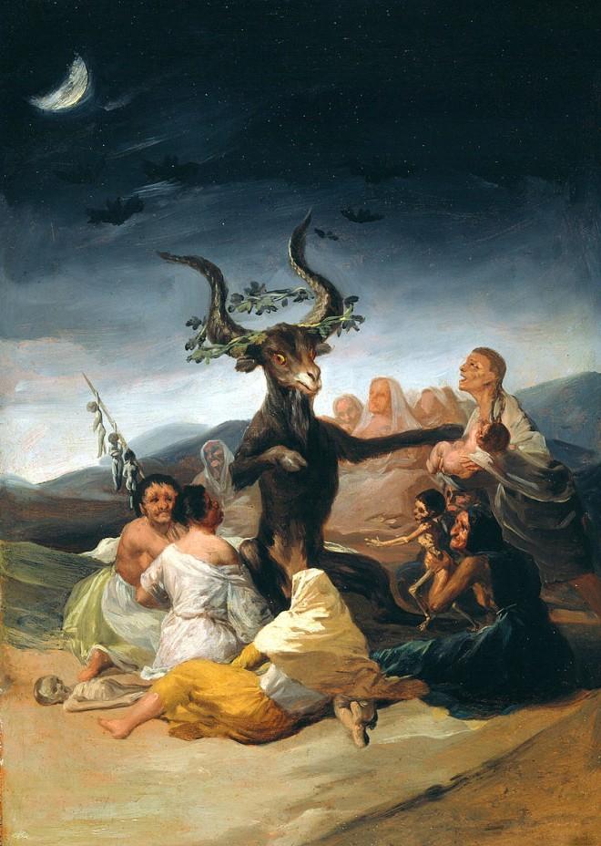 Una de las pinturas más célebres de Goya
