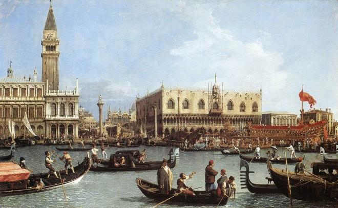 Cuadro de Canaletto
