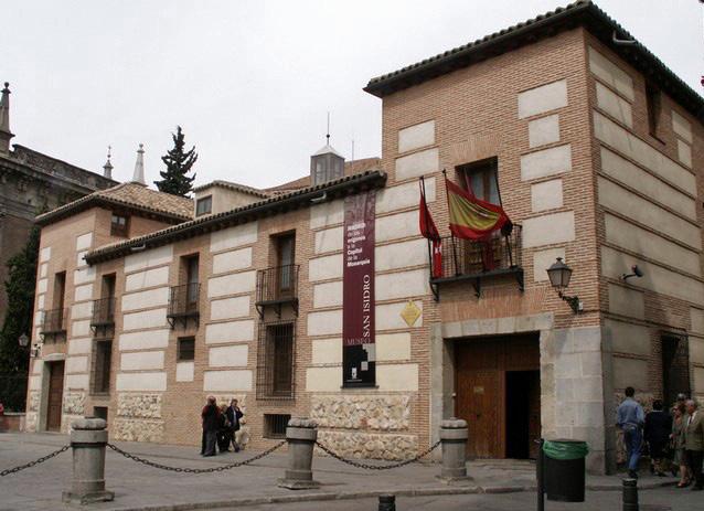 Fachada de la Casa Museo de San Isidro