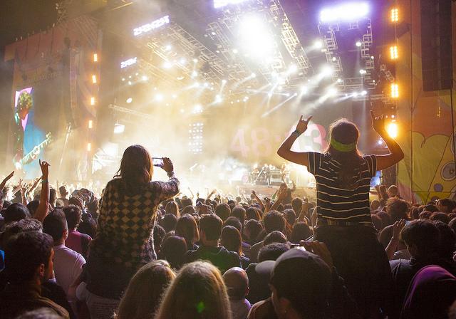 Un concierto de las fiestas de San Isidro