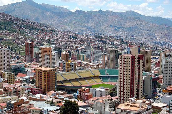 Imagen del Estadio Hernando Siles