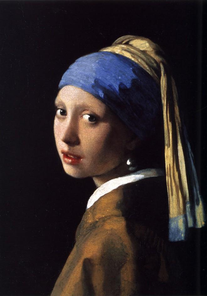 El famoso cuadro del pintor holandés Vermeer