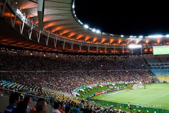 Imagen del Estadio de Maracaná
