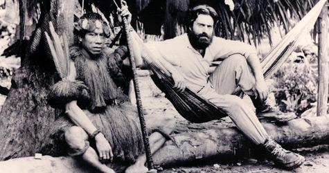 De la Quadra-Salcedo en una de sus aventuras en Sudamérica
