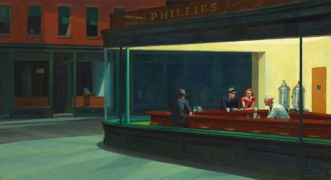 Nighthawks, de Hopper