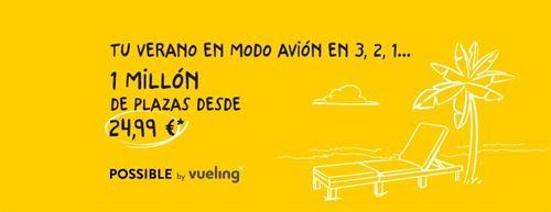Promoción verano de Vueling