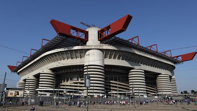 Estadio Giuseppe Meazza de Milán, conocido popularmente como San Siro
