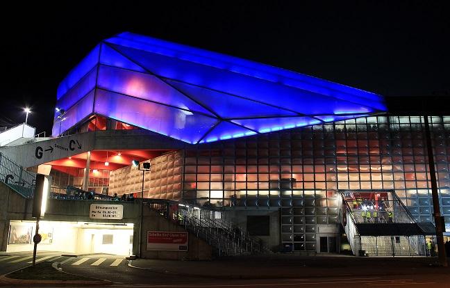 Exterior del estadio St. Jakob de Basilea