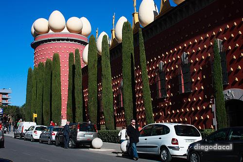 Exterior del Teatro Museo Dalí de Figueras