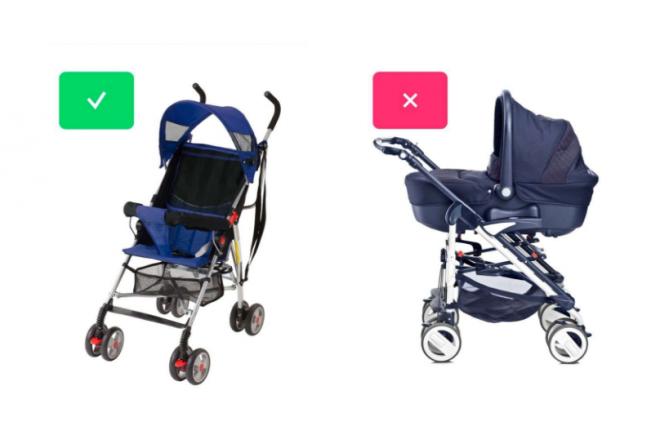 Equipaje para bebé en Transavia