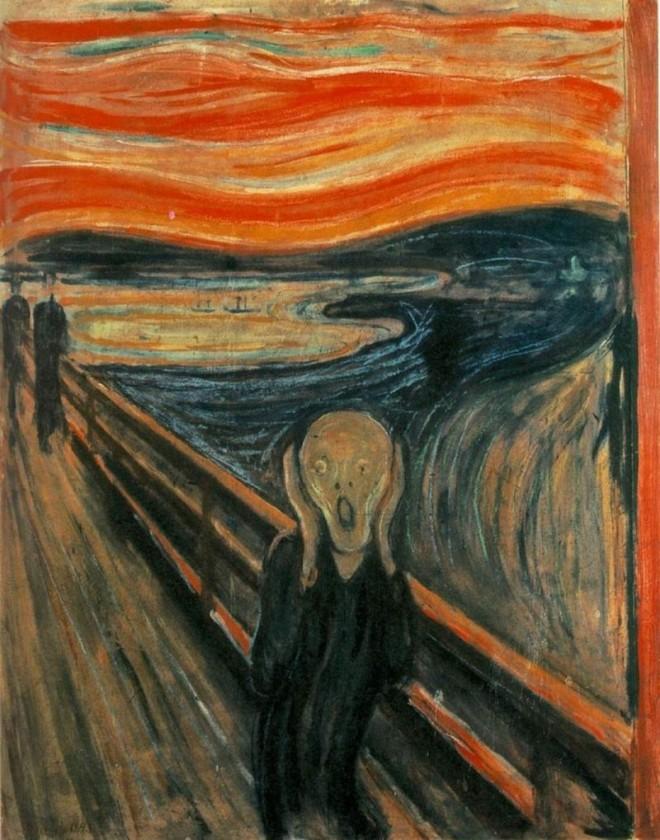 El grito, de Eduard Munch