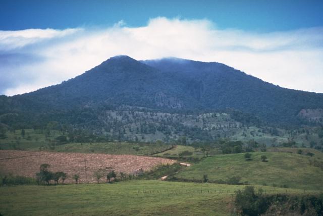 Uno de los volcanes de Costa Rica