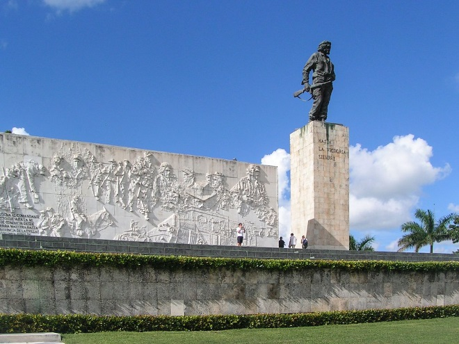 Mausoleo del Che Guevara, en Santa Clara (Cuba)