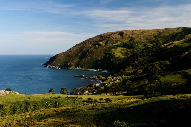 Vistas de la bahía de Murlough