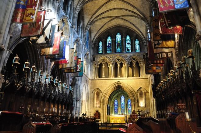 Interior de la Catedral de San Patricio de Dublín