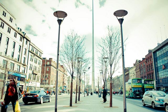 The Spire, en la O'Connor Street de Dublín