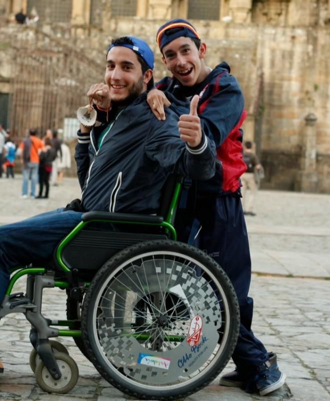 Oliver y Juan Luis en Santiago