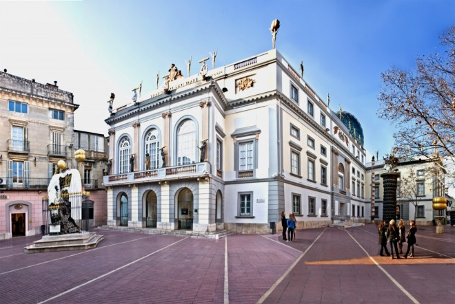 Plaza Gala - Salvador Dalí en Figueras