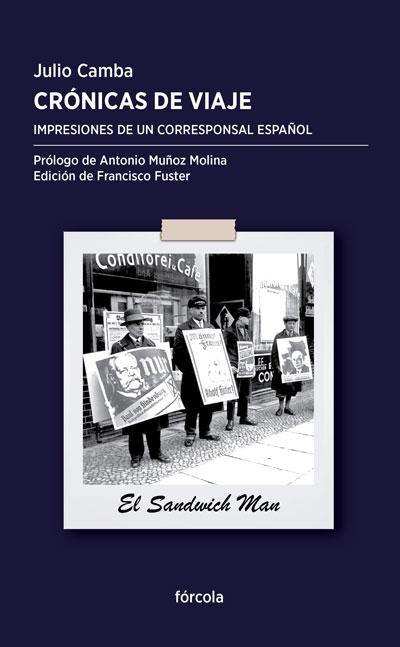 """Portada de """"Crónicas de viaje"""" de Julio Camba"""