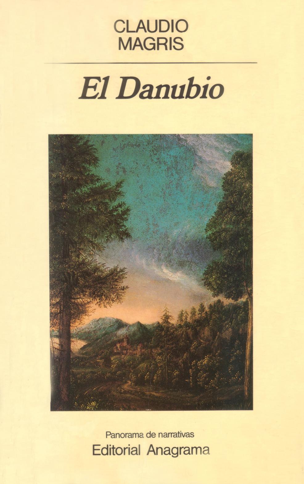 """Portada de """"El Danubio"""" de Claudio Magris"""