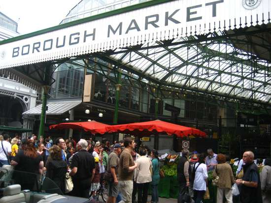 Exterior del Borough Market