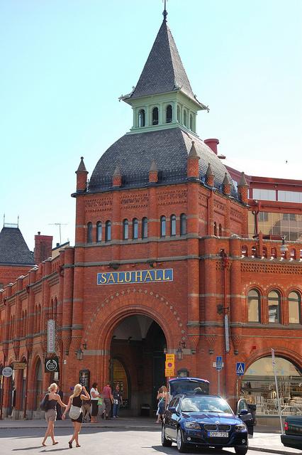 Exterior del mercado Saluhall