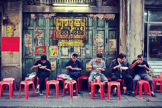 Gentes de Tailandia