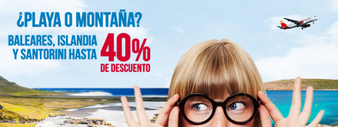 Promoción Iberia Express